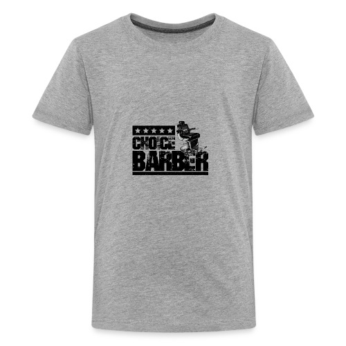 Choice Barber 5-Star Barber - Black - Kids' Premium T-Shirt