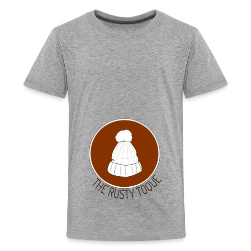 The Rusty Toque Brown Logo 2 - Kids' Premium T-Shirt
