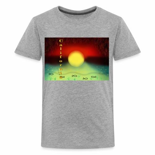 Sunset By Sea, California Product - Kids' Premium T-Shirt
