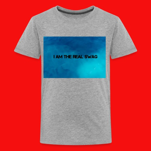 I AM THE REAL SWAG - Kids' Premium T-Shirt