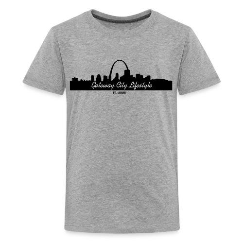 Gateway City Lifestyle Skyline Logo - Kids' Premium T-Shirt