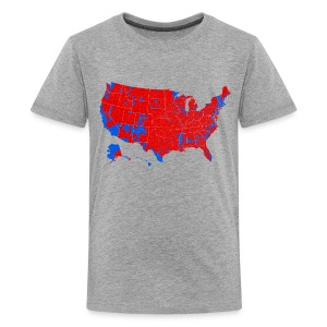 2016 Presidential Election by County - Kids' Premium T-Shirt