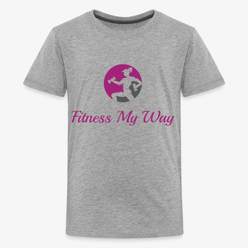 Fitness My Way - Kids' Premium T-Shirt