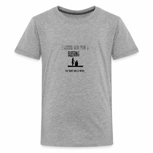 iasked god2 - Kids' Premium T-Shirt