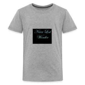 Never Lost Wonder - Kids' Premium T-Shirt