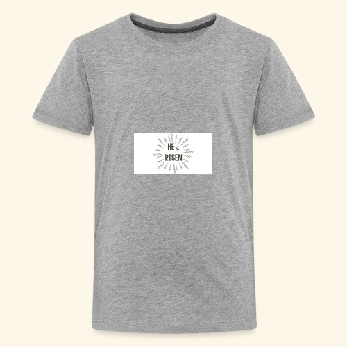 He is risen - Kids' Premium T-Shirt