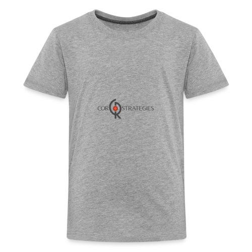 HiRez CorLogo - Kids' Premium T-Shirt