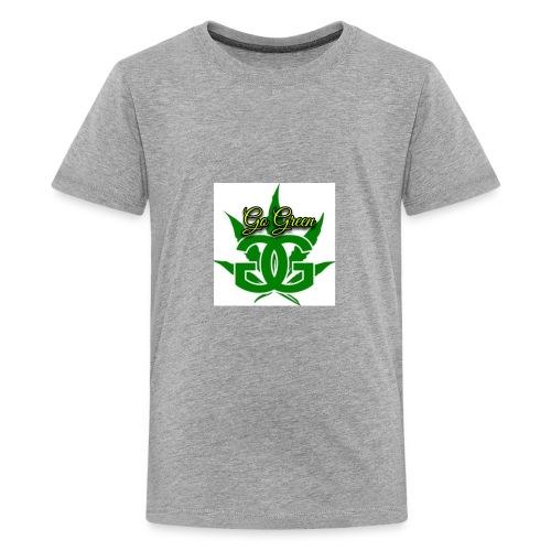 go green - Kids' Premium T-Shirt