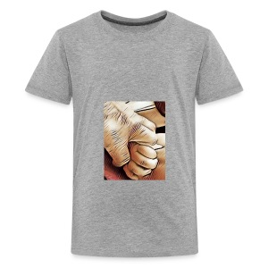 In time of need I'll hold your hand - Kids' Premium T-Shirt