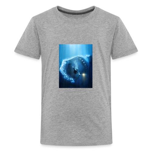 Mr.Shark is hungry - Kids' Premium T-Shirt