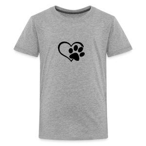 LOVE DOG - Kids' Premium T-Shirt