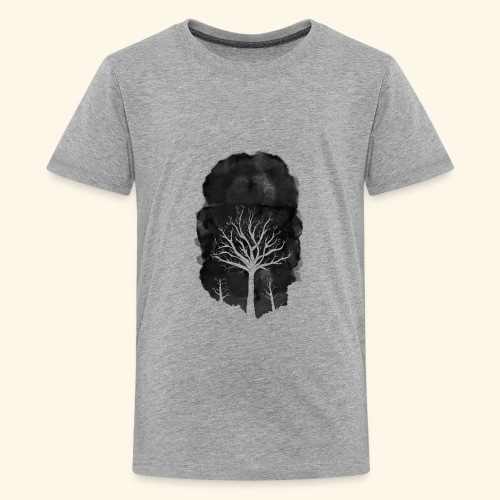 Dead tree1 - Kids' Premium T-Shirt