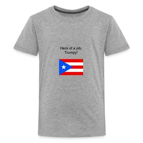 Heck of a job trumpy - Kids' Premium T-Shirt