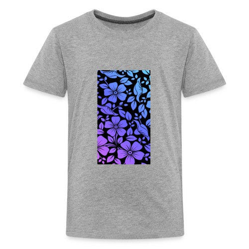 Flowers march - Kids' Premium T-Shirt