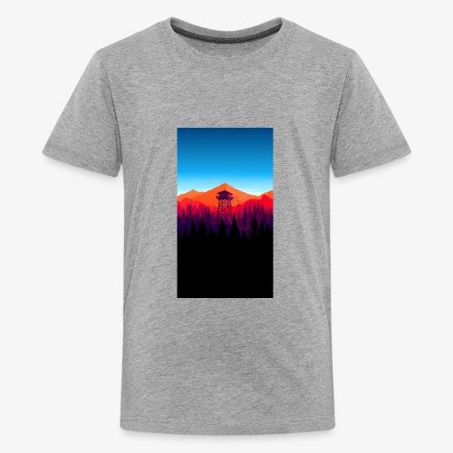 watch tower - Kids' Premium T-Shirt