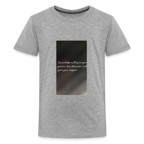 Knowledge - Kids' Premium T-Shirt