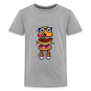 Burger Bits - Kids' Premium T-Shirt