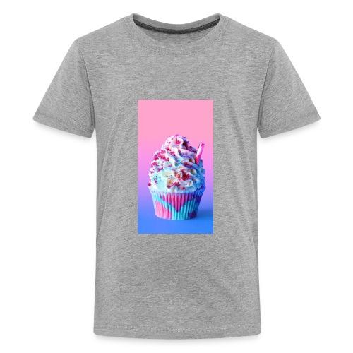 ea8a92ad unicorn frappuccino cupcakes pc - Kids' Premium T-Shirt