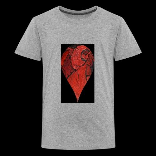 Heart Drop - Kids' Premium T-Shirt