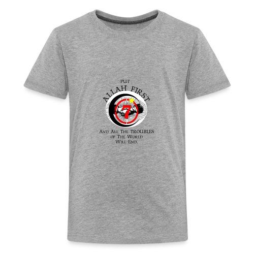 Put Allah First Phone Cases - Kids' Premium T-Shirt