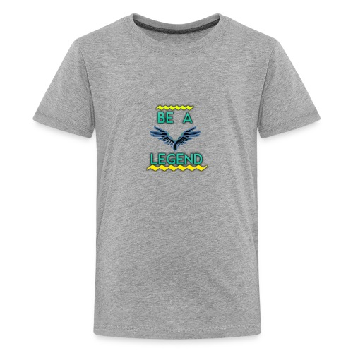 my new short logog - Kids' Premium T-Shirt