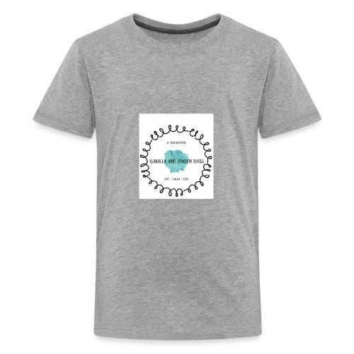 Isabella and London Vlogs Merch - Kids' Premium T-Shirt