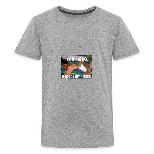 UDSYFIOwehipgwaepfihweihuaegwiaweiupfg - Kids' Premium T-Shirt