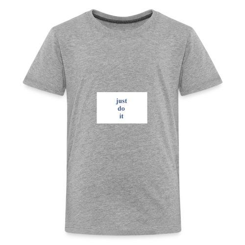 justdoit - Kids' Premium T-Shirt