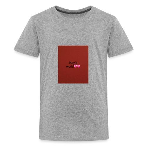 Kay's world - Kids' Premium T-Shirt