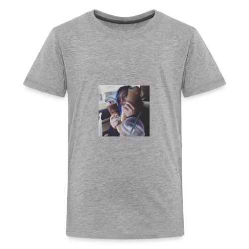 Hailey Redman from The Adequate - Kids' Premium T-Shirt