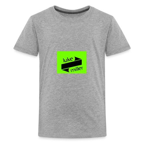 lukemillerlogo - Kids' Premium T-Shirt