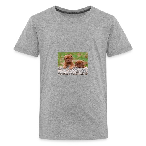 French Mastiff Puppies - Kids' Premium T-Shirt