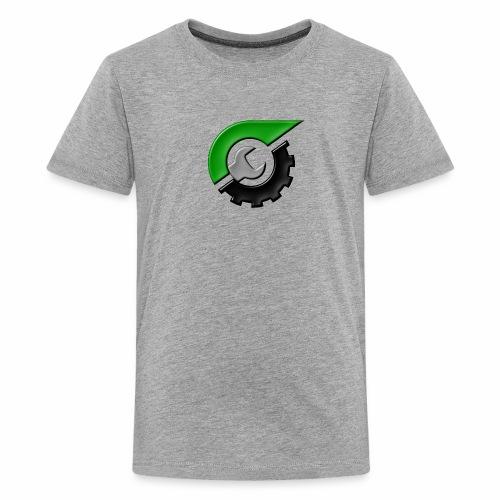 JeepSolid Logo - Kids' Premium T-Shirt