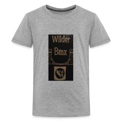 Wilder Bmx logo apparel - Kids' Premium T-Shirt