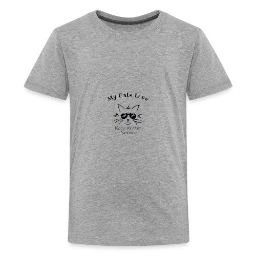 Cats Black - Kids' Premium T-Shirt