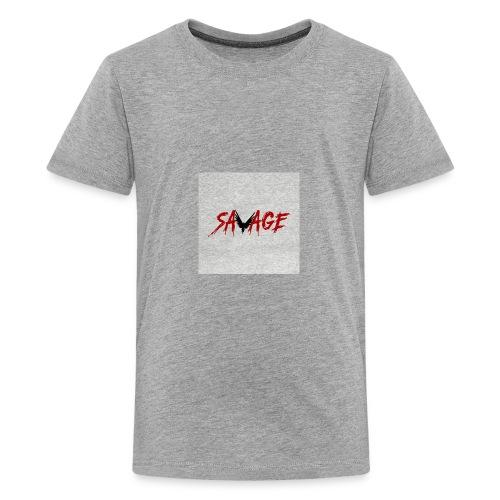 savage logo - Kids' Premium T-Shirt