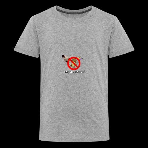 CaçaBaratas - Kids' Premium T-Shirt