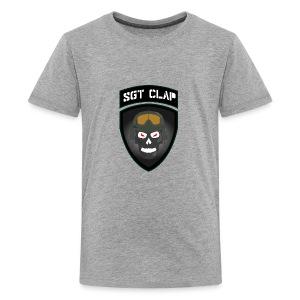 Sgt Clap Logo - Kids' Premium T-Shirt