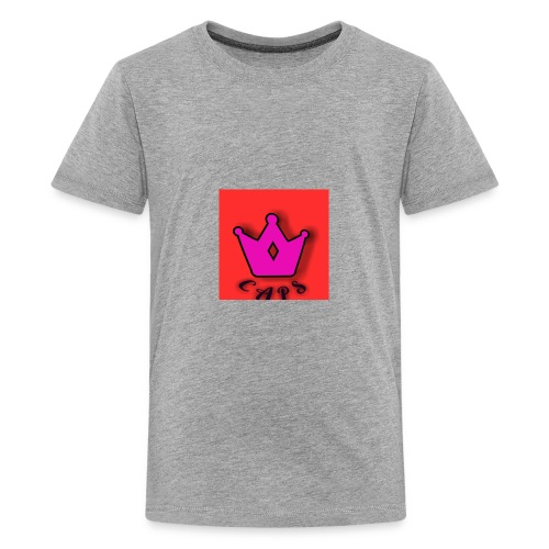 caps crown - Kids' Premium T-Shirt