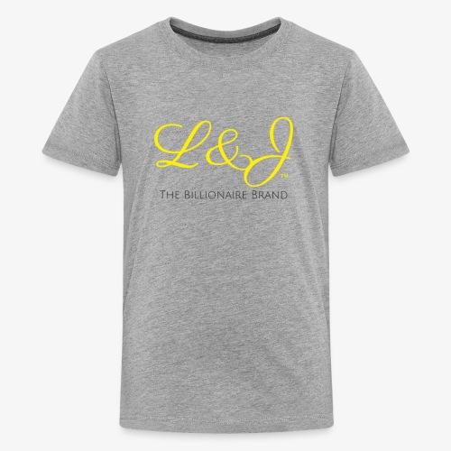 LNJ: The Billionaire Brand Shirt - Kids' Premium T-Shirt
