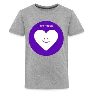 I am happy! - Kids' Premium T-Shirt