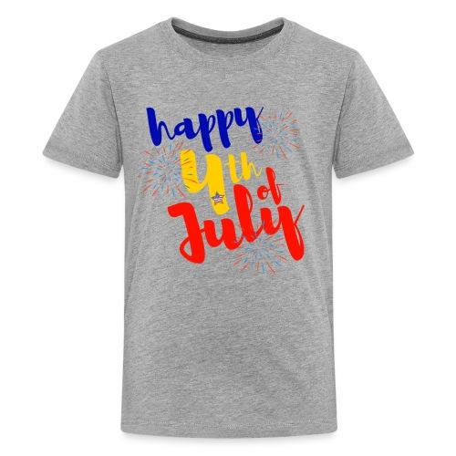 Happy 4th - Kids' Premium T-Shirt