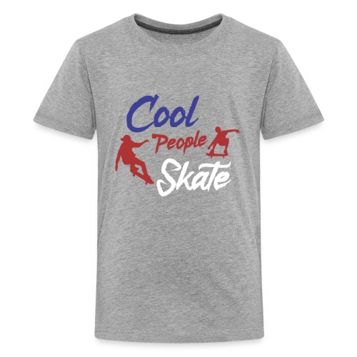 Limited Edition - COOL PEOPLE SKATE - Kids' Premium T-Shirt