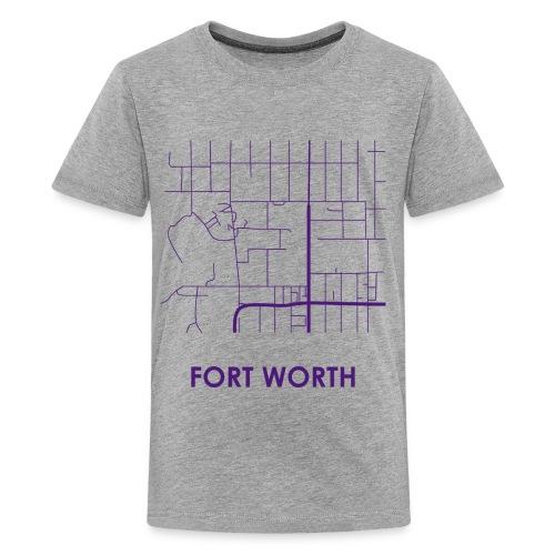 Fort Worth Streets - Kids' Premium T-Shirt