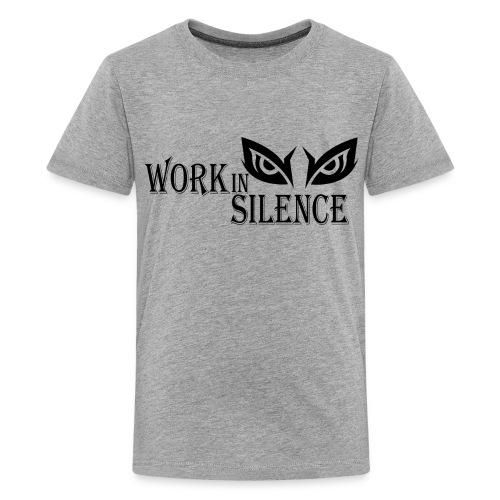 WORK IN SILENCE - Kids' Premium T-Shirt