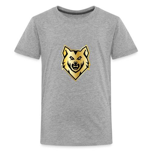 Wolf gril - Kids' Premium T-Shirt