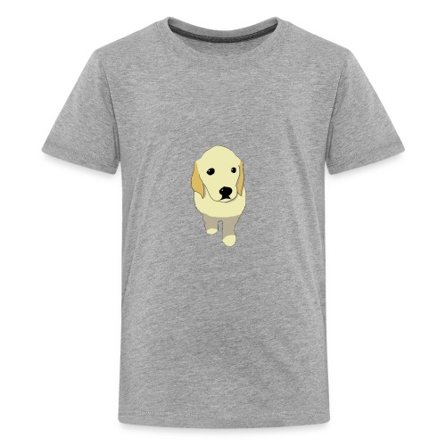 Golden Retriever puppy - Kids' Premium T-Shirt