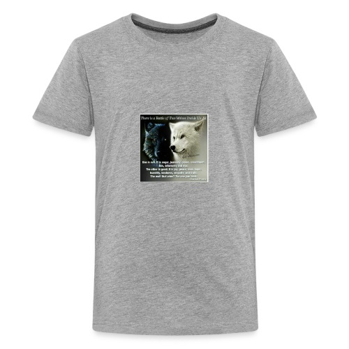 Wolf are just awesome - Kids' Premium T-Shirt