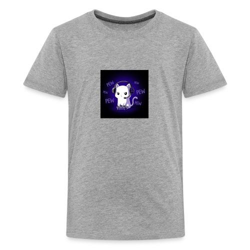 Pew Pew Kitty clean grande - Kids' Premium T-Shirt