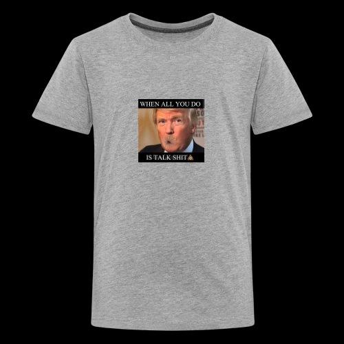 Shitmouth trump - Kids' Premium T-Shirt
